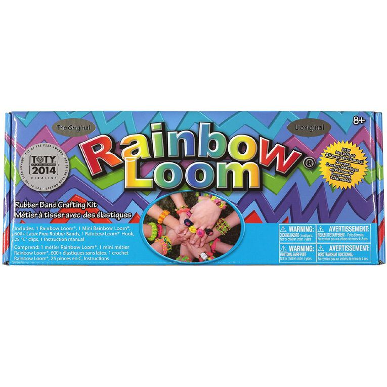 Rainbow Loom Bracelet Kit, , hi-res