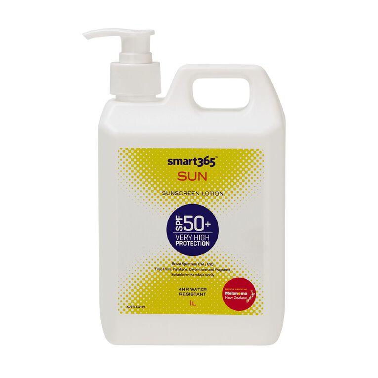 Smart365 Sunscreen Lotion SPF50+ 1L, , hi-res