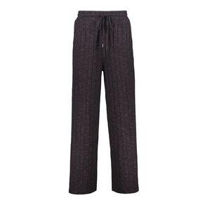 H&H Women's Brushed Wide Leg Pants