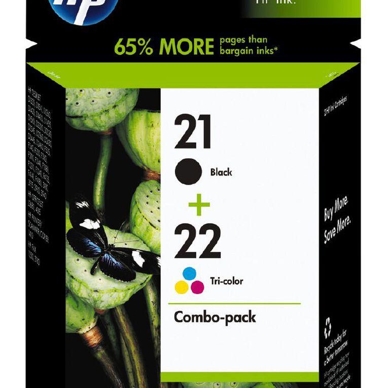 HP Ink Cartridge 21/22 Combo Pack, , hi-res