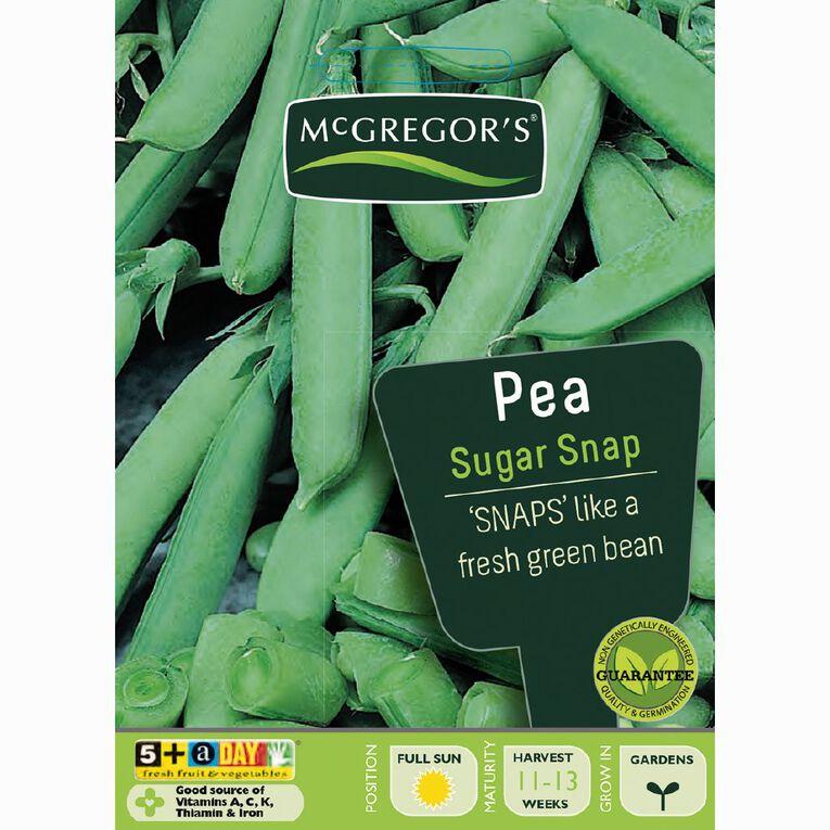 McGregor's Sugar Snap Pea Vegetable Seeds, , hi-res