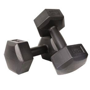 Active Intent Fitness Vinyl Dumbbell 2kg 2 Piece