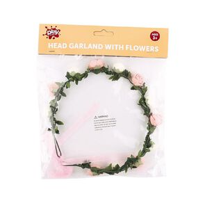 Play Studio Flower Crown White & Peach