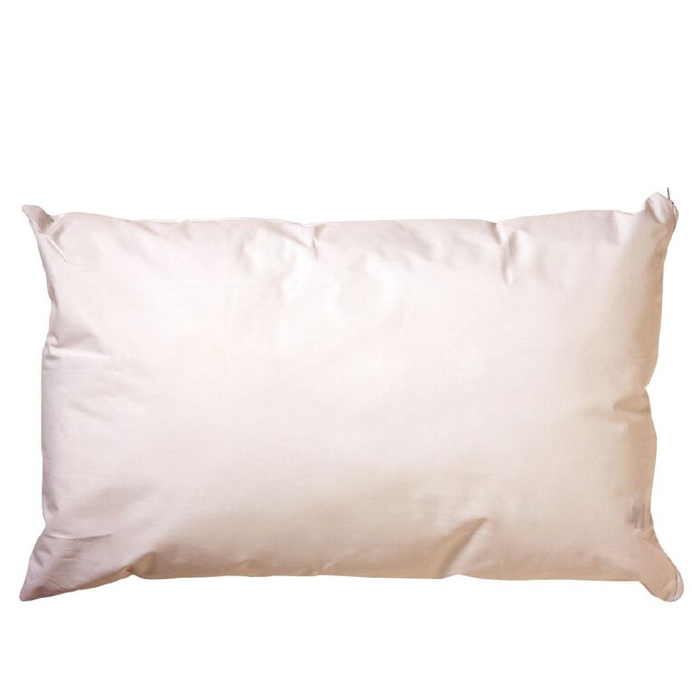 Living & Co Pillow Healthcare White 72cm x 44cm, White, hi-res