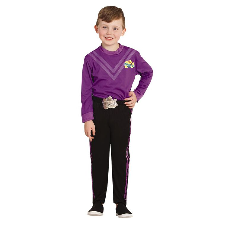 Wiggles Lachy Deluxe Costume - Size Toddler, , hi-res