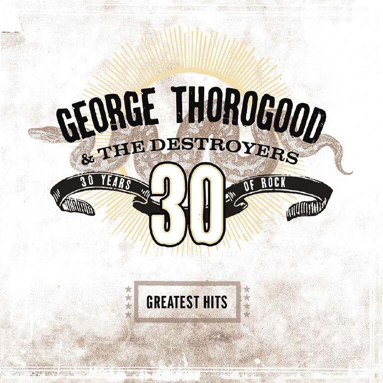 Greatest Hits 30 Years of Rock Vinyl by George Thorogood 2Record, , hi-res