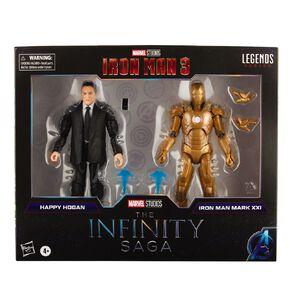 Marvel Legends Infinity Happy Hogan and Iron Man Mark 21