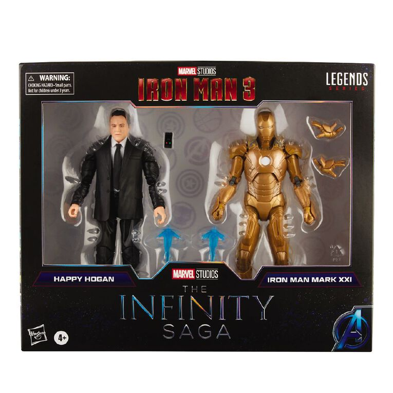 Marvel Legends Infinity Happy Hogan and Iron Man Mark 21, , hi-res