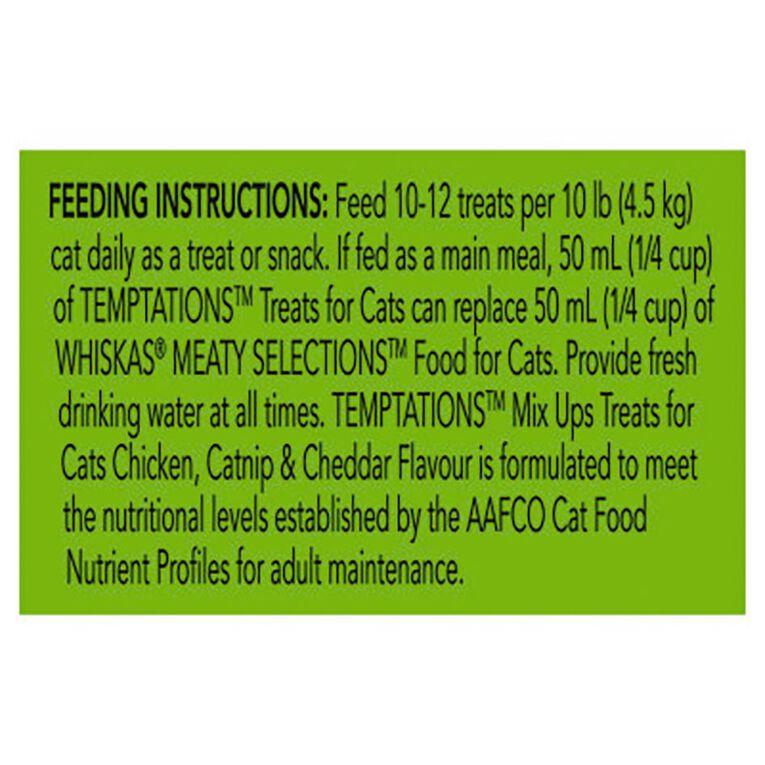Temptations Mixups Chicken Catnip & Cheddar 454g Tub, , hi-res