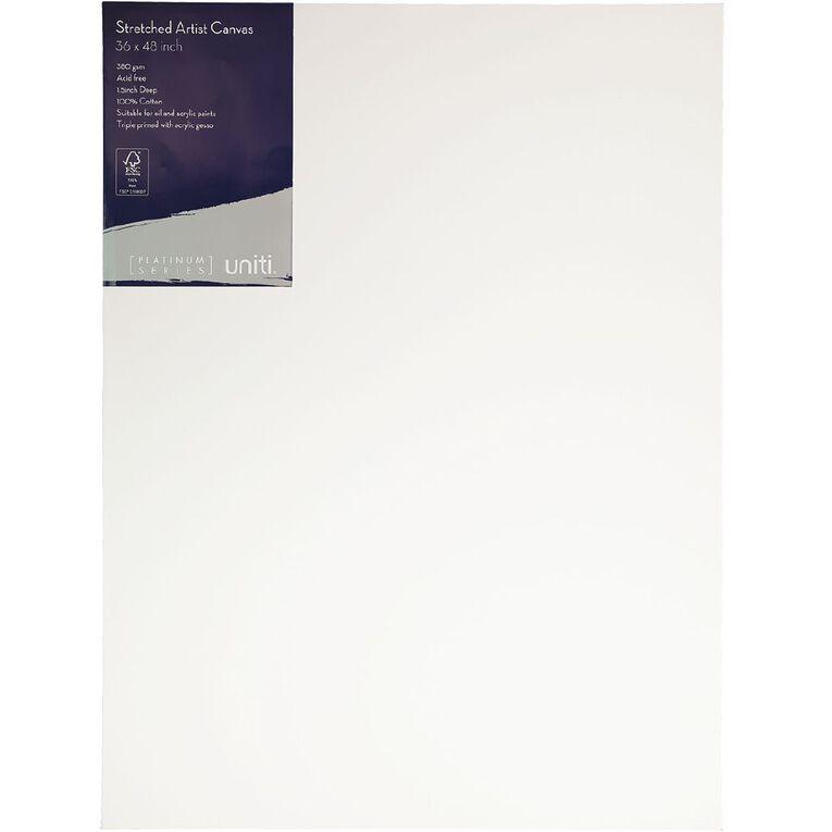 Uniti Platinum Canvas 36x48 Inches 380Gsm, , hi-res