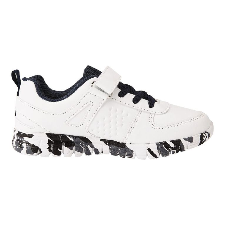 Young Original Kids' Quinn Shoes, White, hi-res