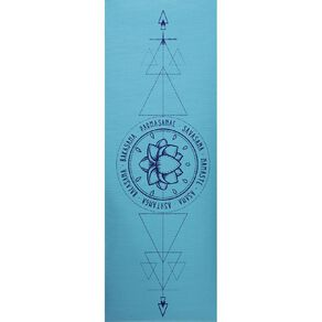 Active Intent Fitness Yoga Mat 3mm Thickness Assorted