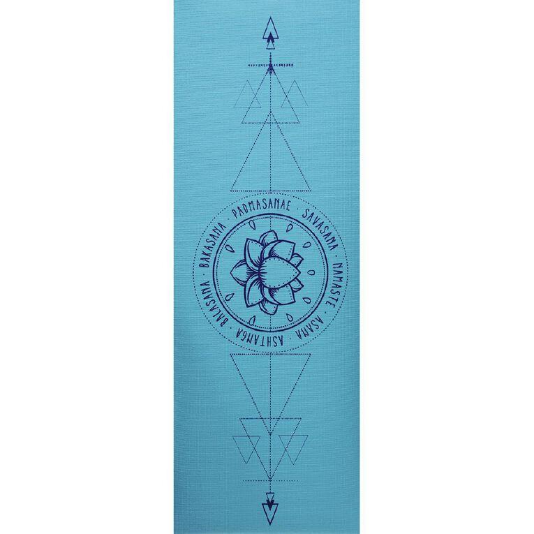 Active Intent Fitness Yoga Mat 3mm Thickness Assorted, , hi-res
