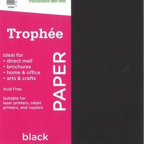 Trophee Paper 80gsm 30 Pack Black A4