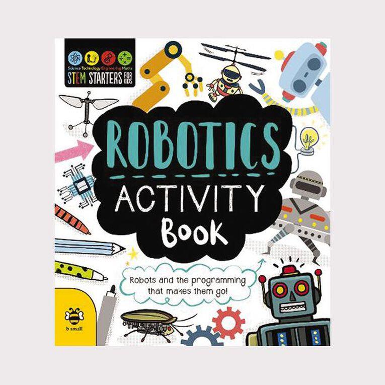 Stem Starters for Kids: Robotics Activity Book, , hi-res
