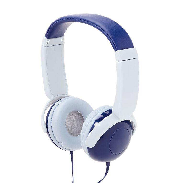 Tech.Inc Dome Kids' Volume Limited Headphones Blue, , hi-res