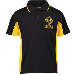 Schooltex Porritt Primary Short Sleeve Polo with Embroidery
