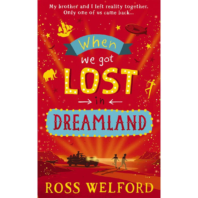 When We Got Lost In Dreamland by Ross Welford, , hi-res image number null