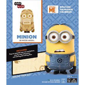 Minions Incredibuilds Minions 3D Wooden Model