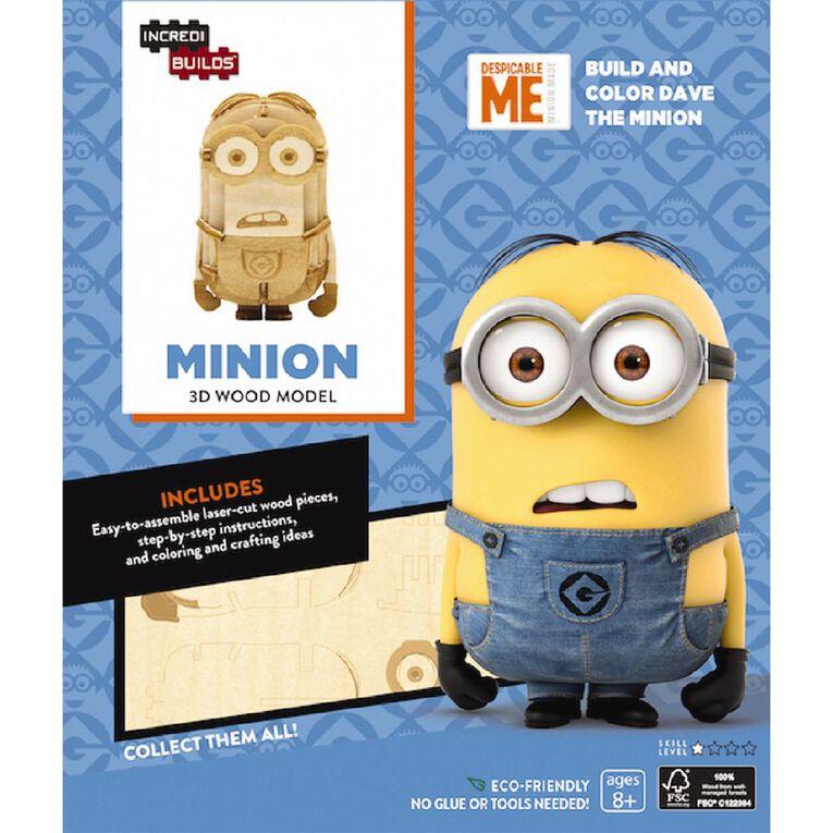 Minions Incredibuilds Minions 3D Wooden Model, , hi-res