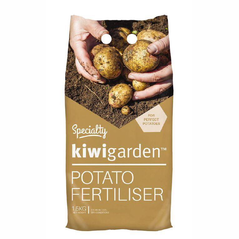 Kiwi Garden Specialty Potato Fertiliser 1.5kg, , hi-res