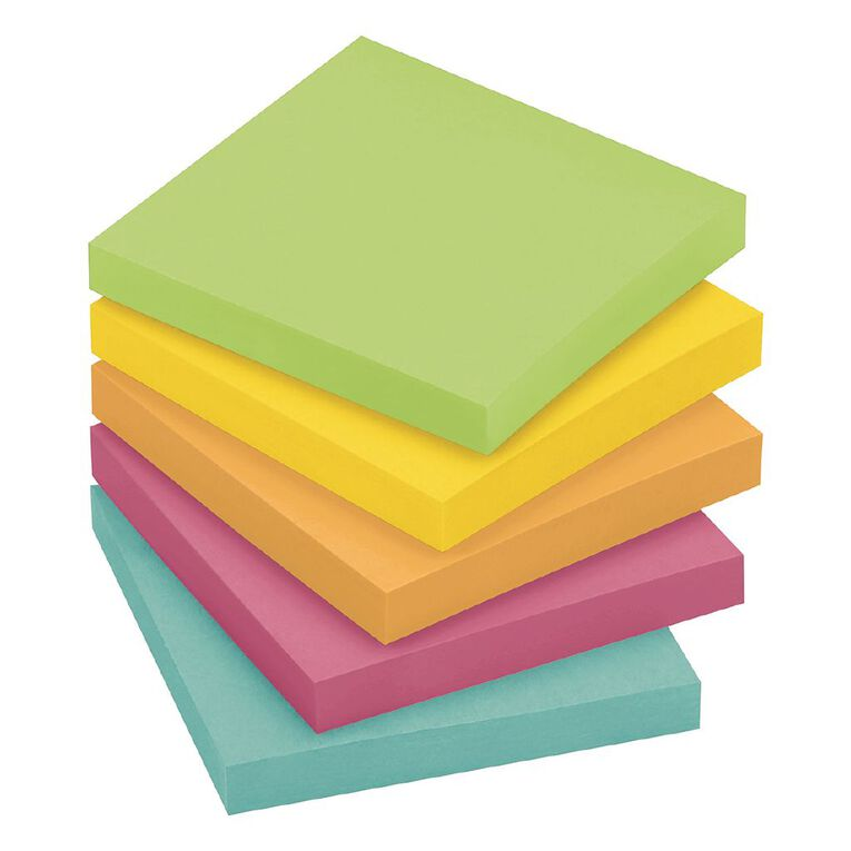 Post-It Notes Jaipur Collection 76mm x 76mm, , hi-res