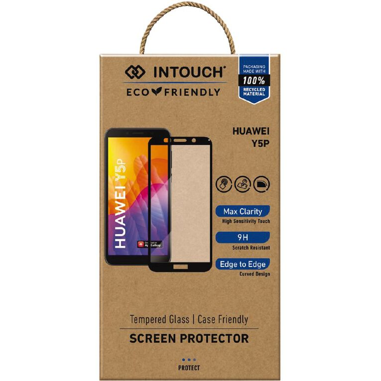 In Touch Huawei Y5p Glass Screen Protector Clear, , hi-res