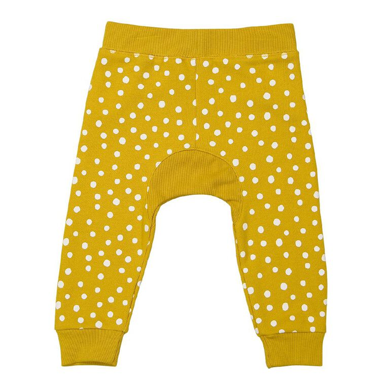 Young Original Baby Gusset Trackpant, Yellow Mid, hi-res
