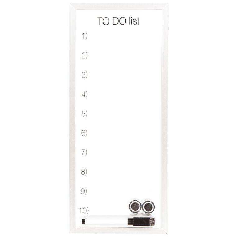 WS Magnetic Dry EraseTo Do Board 152 x 355mm, , hi-res