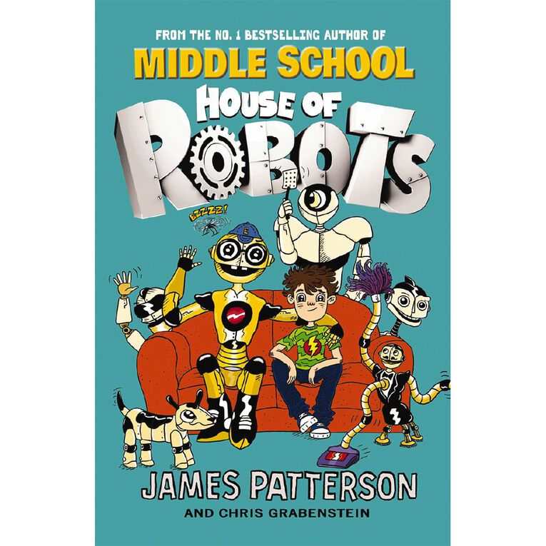 House of Robots #1 by James Patterson, , hi-res