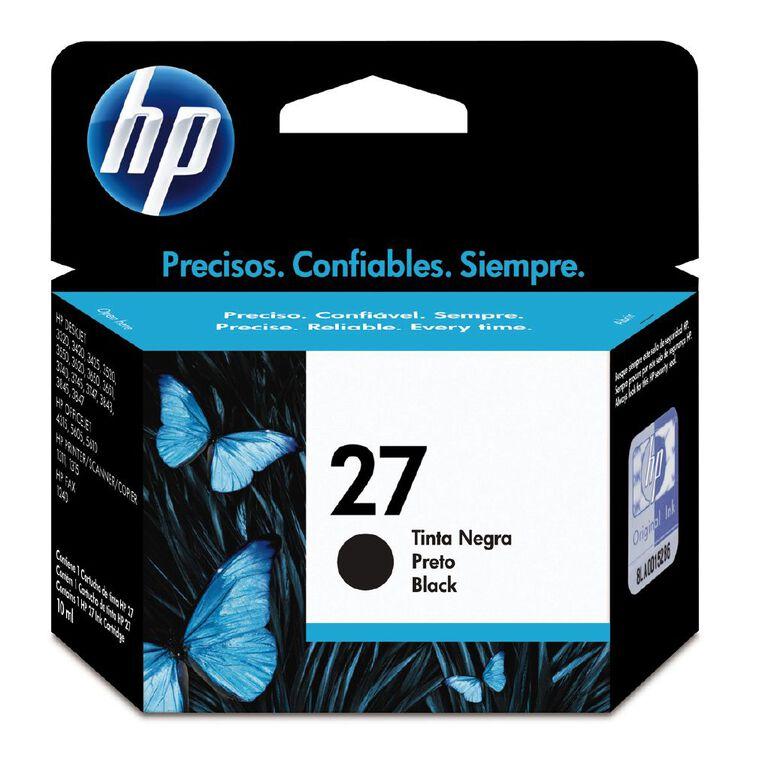 HP Ink 27 Black (280 Pages), , hi-res