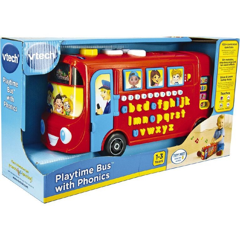 Vtech Playtime Bus with Phonics, , hi-res