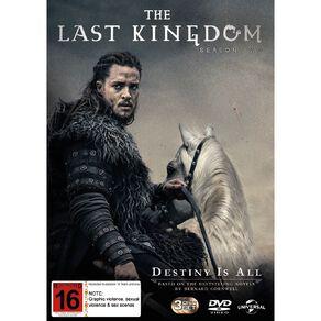 The Last Kingdom Season 2 DVD 3Disc