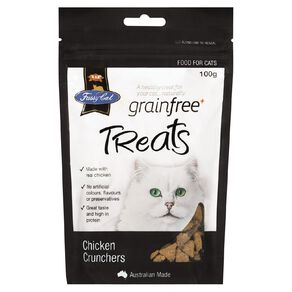Fussy Cat Treats Chicken Crunchers 100g