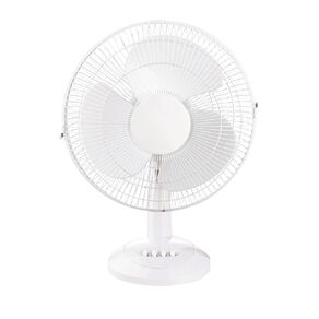 Living & Co Desk Fan 30cm White