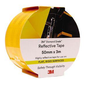 3M 983-71 Reflective Tape 50mm X 3m Yellow