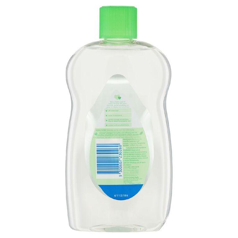 Johnson's Baby Oil with Aloe 500ml, , hi-res