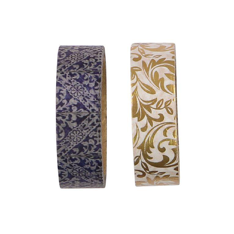 Uniti Heritage Washi Tape 2 Pack Design 2, , hi-res