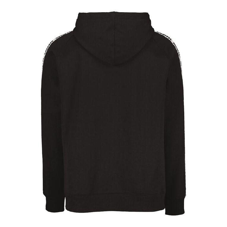 Marvel Disney Tape Hooded Sweatshirt, Black, hi-res