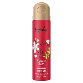Impulse Bodyspray Instant Crush 75ml