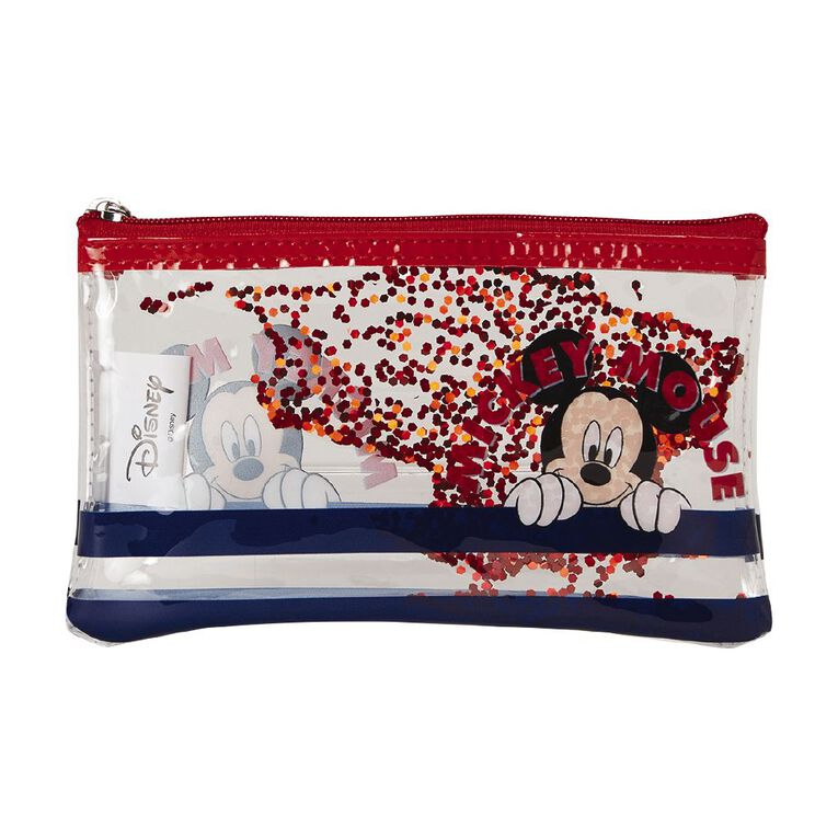 Mickey Mouse Sequin Cosmetic Bag, , hi-res