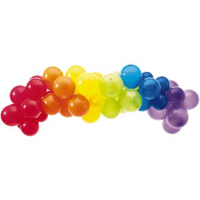 Artwrap Party Balloon Garland Rainbow 40 Pack