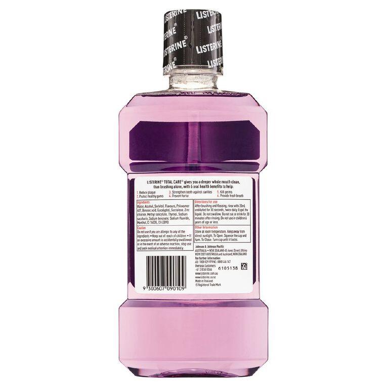 Listerine Total Care Clean Mint 500ml, , hi-res