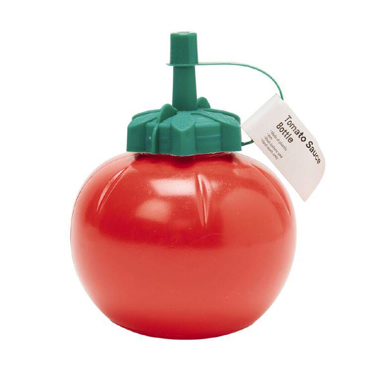 Living & Co Tomato Shaped Sauce Bottle  9cm x 9cm x 11.5cm, , hi-res