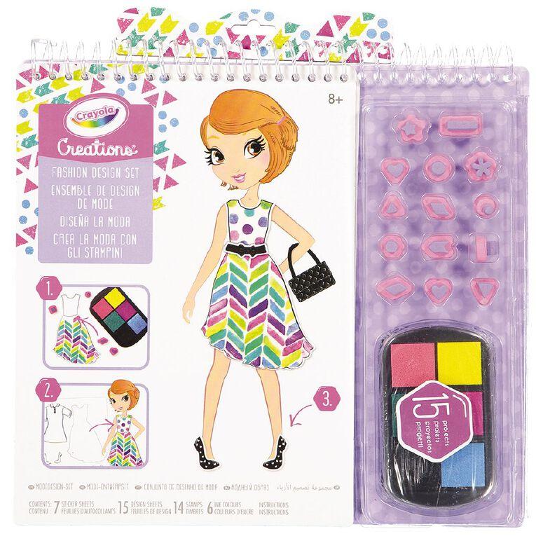 Crayola Creations Fashion Design Set, , hi-res