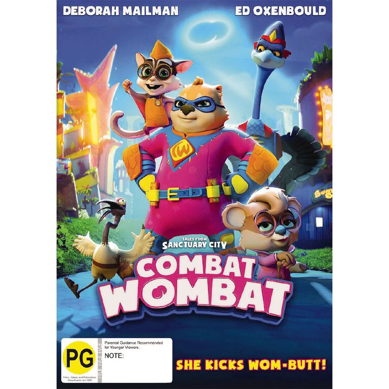 Combat Wombat DVD 1Disc, , hi-res