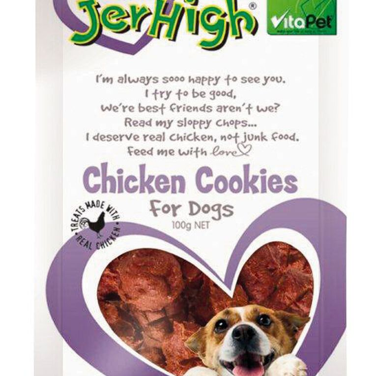 Vitapet Jerhigh Cookies 100g, , hi-res