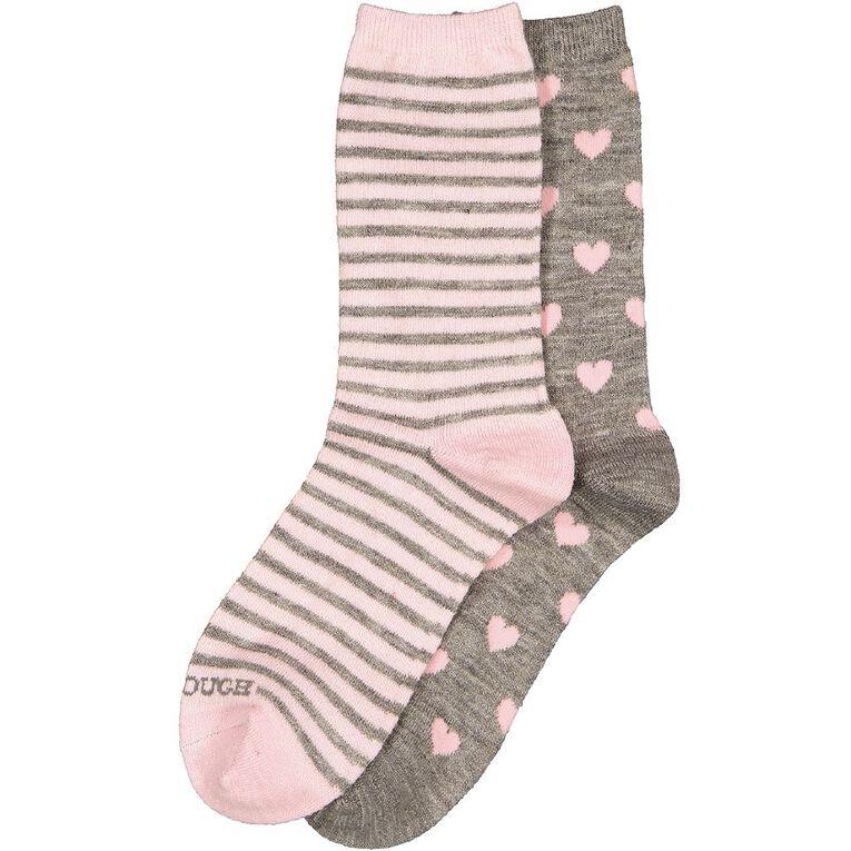 Darn Tough Women's Wool Socks 2 Pack, Grey Marle, hi-res