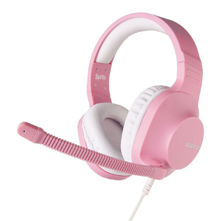 SADES Spirits Gaming Headset Pink, , hi-res