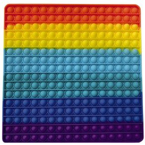 Fidget Pop-It Mega Mega Rainbow Square